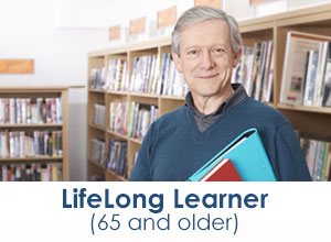 Life Long Learning, programs for students 65+