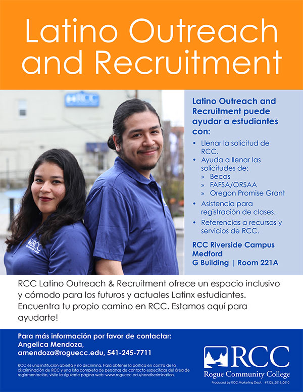 Latino Outreach and Recruitment puede ayudar a estudiantes