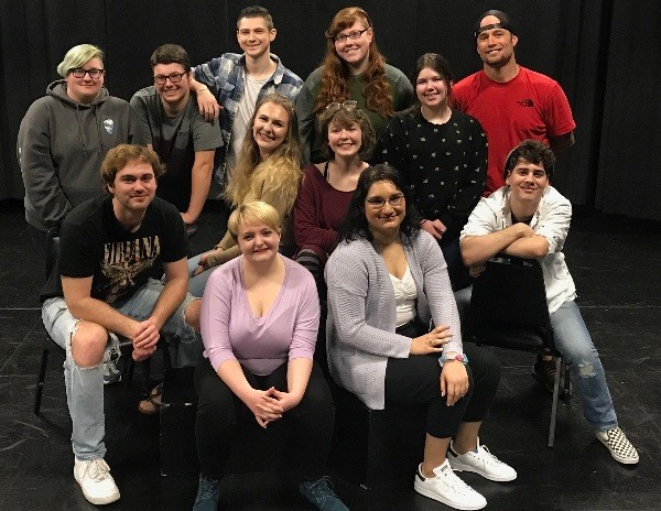 actors with theater arts program at RCC