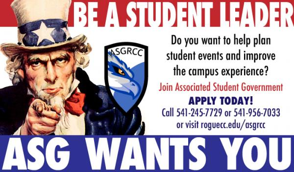 ASG is hiring become a student leader for 2019-20