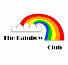 Rogue Community College Associated Student Government Rainbow Club logo