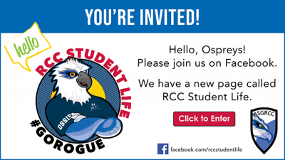 student life and ossie at RCC meet up on Facebook