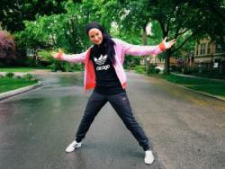 American Muslim, Amirah Sackett hip hop dancer