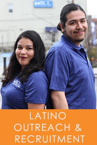 latino Outreach and Recruitment staff