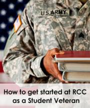 get started at RCC with veterans services