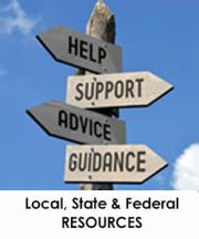 local state and federal resources
